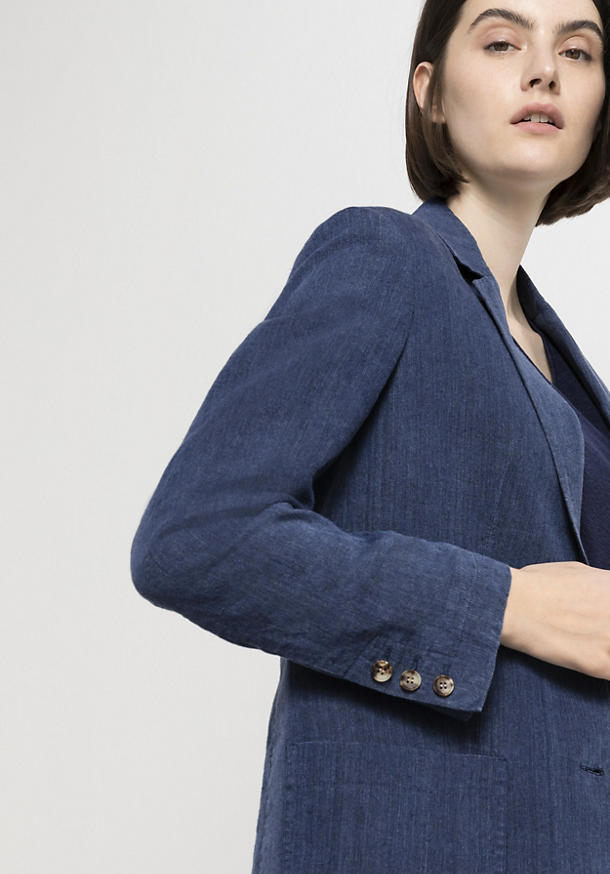 Limited by Nature blazer made from pure organic linen
