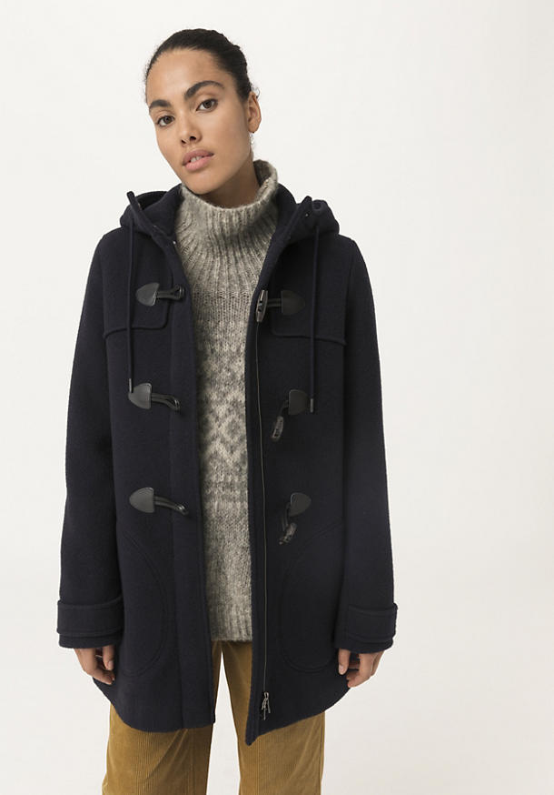 Limited by Nature jacket made of pure new wool