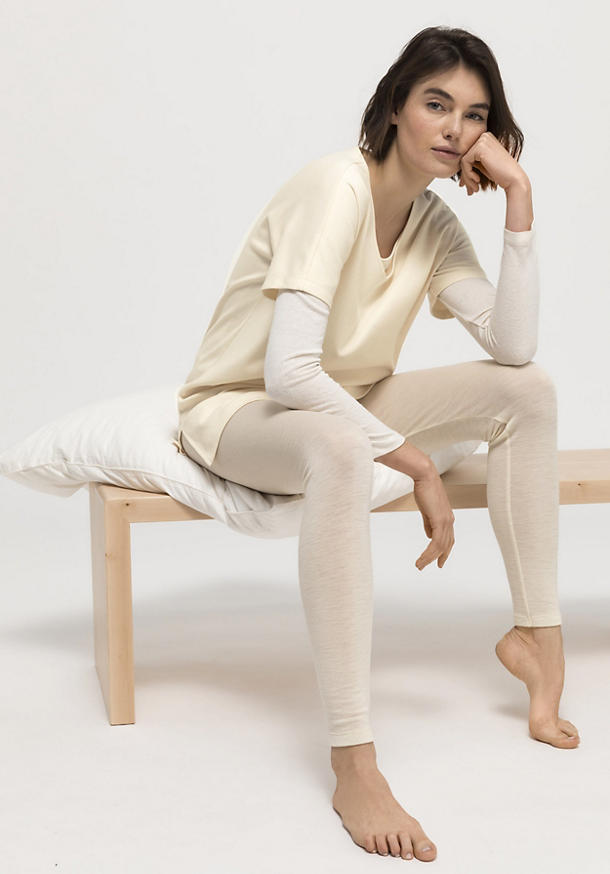 Long shirt made of pure organic cotton