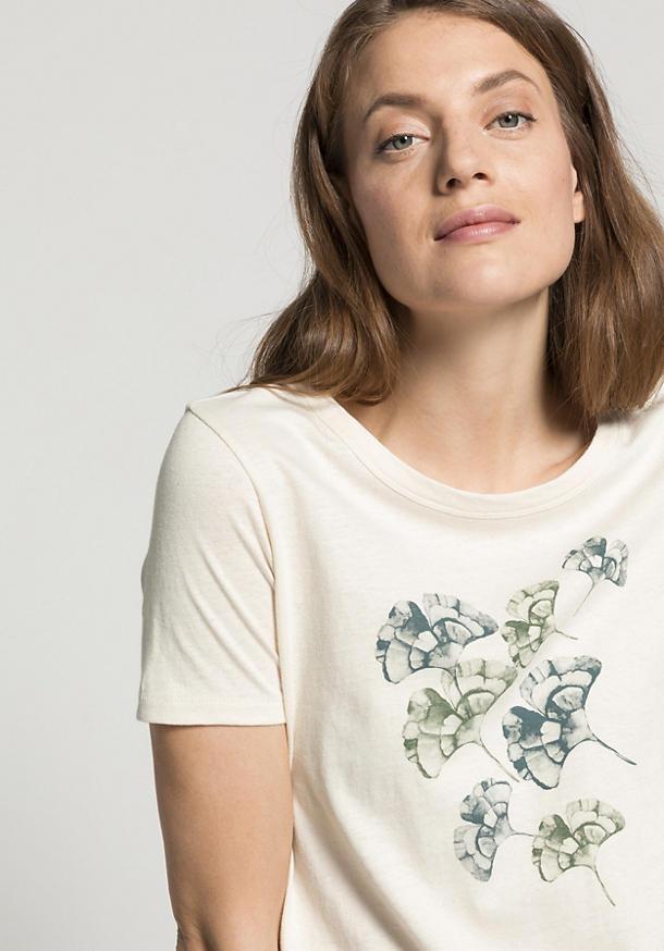 Motiv-Shirt aus reiner Bio-Baumwolle