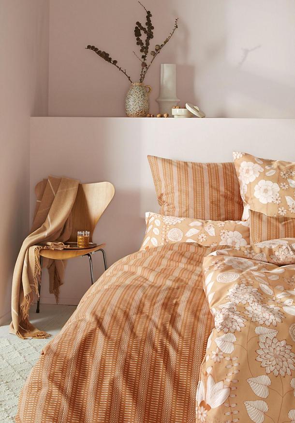 Perkal-Bettwäsche Triana aus reiner Bio-Baumwolle