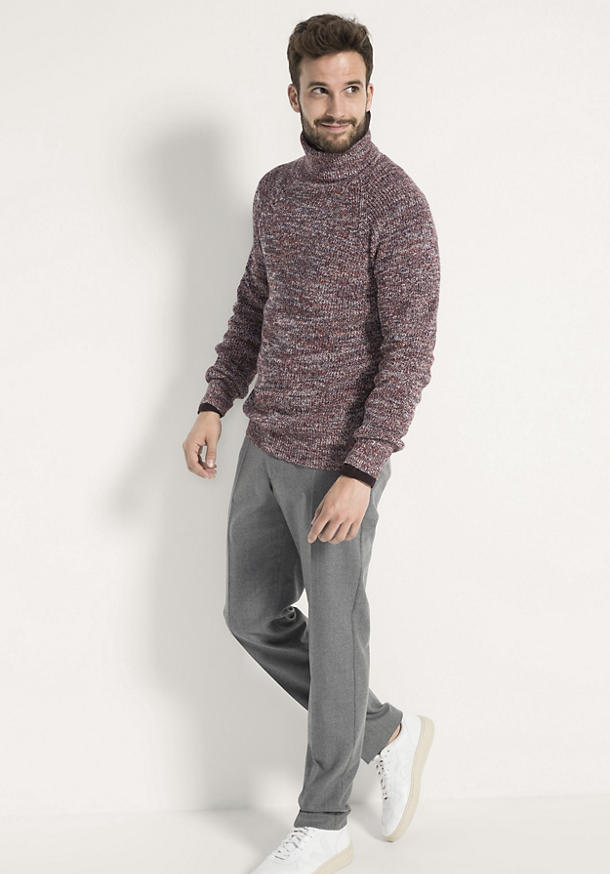 Pullover aus Leinen und Bio-Baumwolle