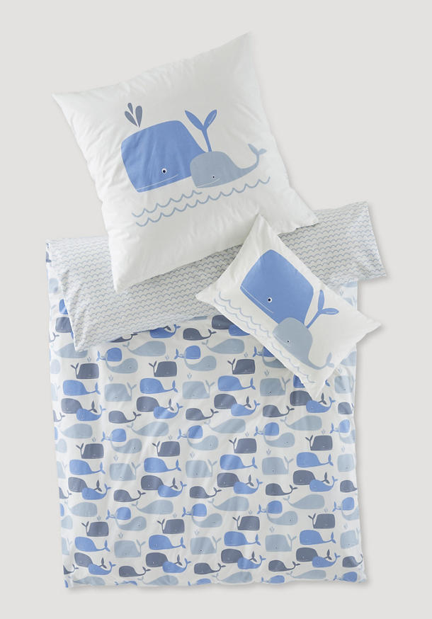 Renforcé bed linen made from pure organic cotton