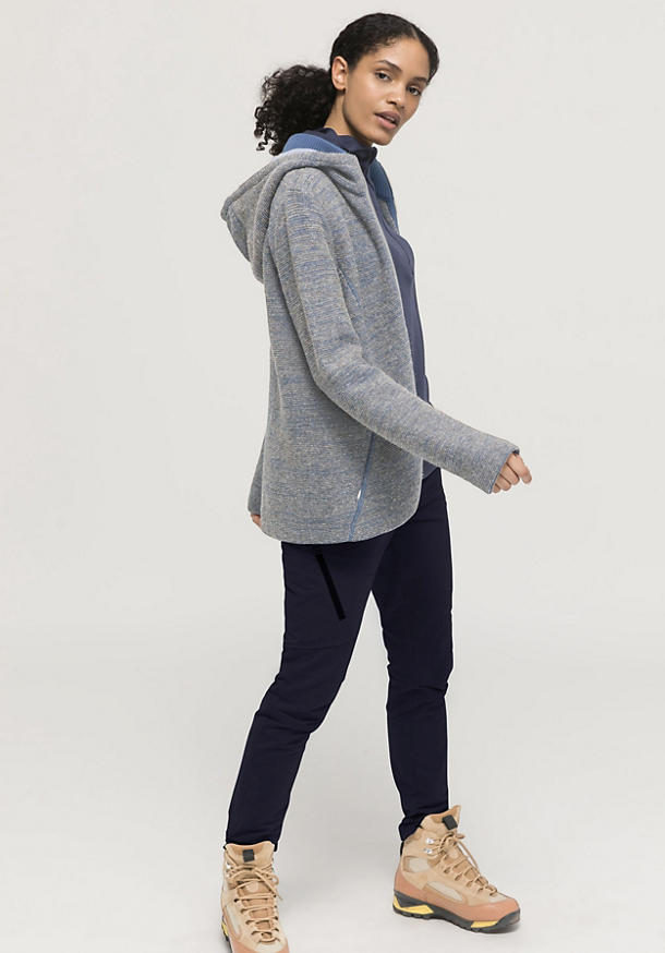 Rhön cardigan made of new wool with organic cotton