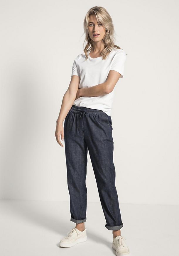 Schlupf-Jeans aus reinem Bio-Denim