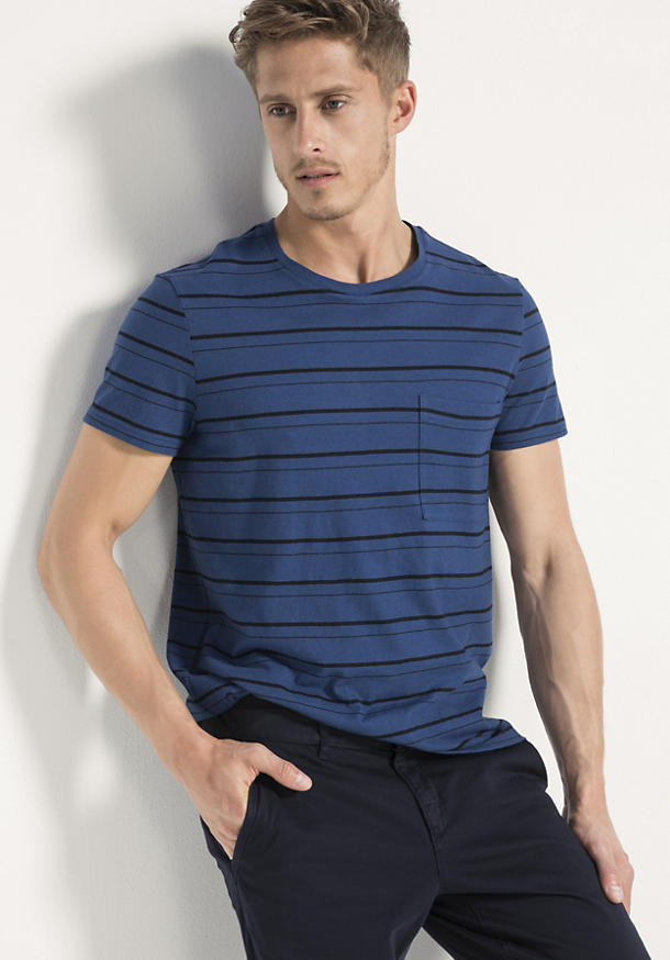 Shirt aus Bio-Baumwolle mit Yak und Hanf