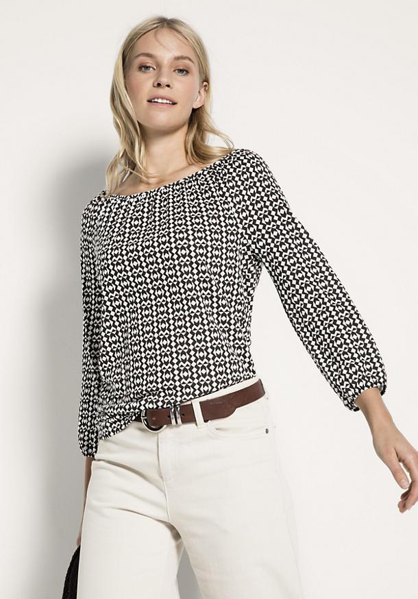 Shirtbluse aus reiner Bio-Baumwolle