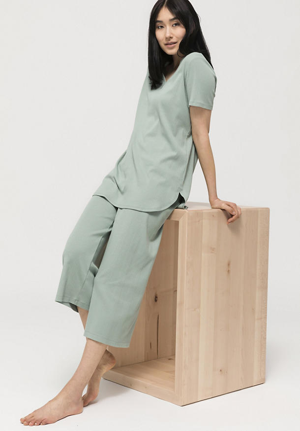 Sleep trousers made from pure organic cotton