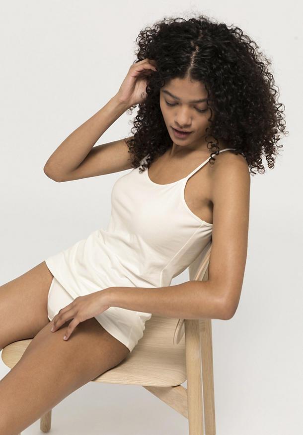Spaghettiträger-Shirt PureLUX aus Bio-Baumwolle