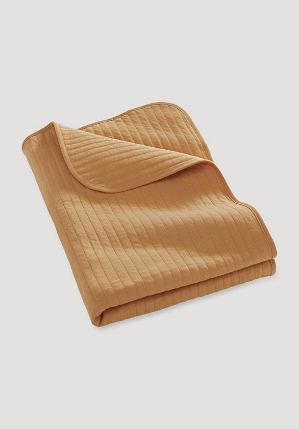 Stepp-Decke aus reiner Bio-Baumwolle