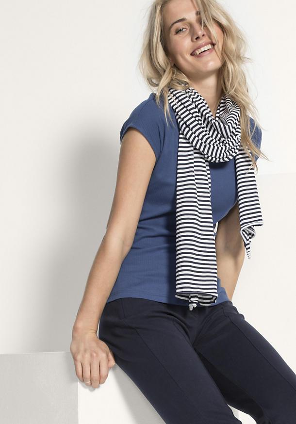 Unisex Schal aus reiner Bio-Baumwolle
