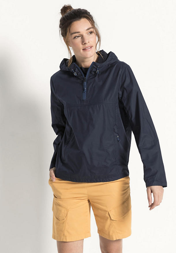 Windbreaker Nature Shell aus reiner Bio-Baumwolle