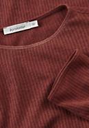Ajour-Shirt aus Bio-Baumwolle mit Schurwolle