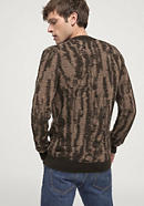 Alpaca sweater with Mongolian merino