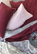 Biber-Wende-Bettwäsche aus reiner Bio-Baumwolle