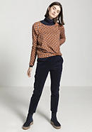 Blouse shirt made of organic cotton and modal