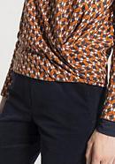 Blusen-Shirt aus Bio-Baumwolle und Modal