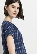 Blusenshirt aus Leinen mit Bio-Baumwolle