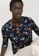 Blusenshirt aus reiner Bio-Baumwolle