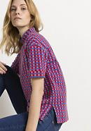 Check shirt made of organic cotton