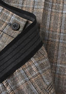 Checked trousers made of pure new wool