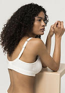 Comfort bra made of organic cotton