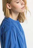 Crêpe-Bluse aus reiner Bio-Baumwolle