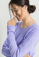 Damen Frottee-Shirt aus reiner Bio-Baumwolle