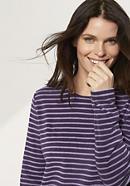 Damen Frottee-Sweatshirt aus reiner Bio-Baumwolle