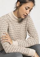 Damen Pullover aus Alpaka und Rhönwolle