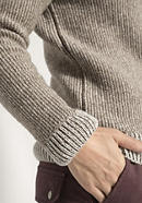 Damen Pullover aus Rhönwolle und Bio-Baumwolle