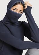 Damen Sweat-Hoodie aus reiner Bio-Merinowolle