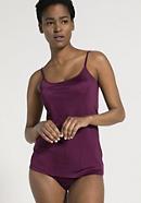 Damen Trägerhemd aus reiner Bio-Seide