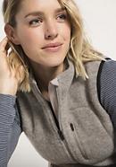 Damen Wollfleece Weste aus reiner Schurwolle