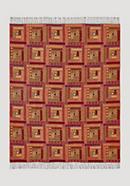 Decke Baltimora aus reiner Merinowolle