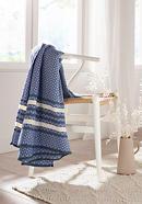 Decke Sofia aus reiner Bio-Baumwolle