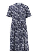 Dress all over print made of pure organic cotton