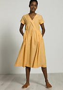 Dress made of organic cotton with linen