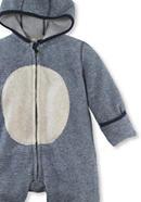Fleece-Overall aus reiner Bio-Baumwolle
