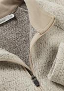 Fleece-Troyer aus Bio-Merinowolle mit Bio-Baumwolle