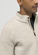 Fleece-Troyer aus Bio-Merinowolle und Bio-Baumwolle