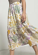 Flounce skirt made from pure organic cotton