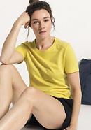 Funkionsshirt für Sie aus Bio-Baumwolle mit Bio-Merinowolle
