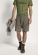 Herren Cargohose aus Bio-Baumwolle mit Leinen