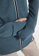 Herren Jacke aus Schurwolle mit Baumwolle und Elasthan