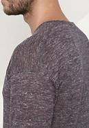 Herren Pullover aus Alpaka mit Leinen