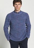 Herren Pullover aus Leinen mit Bio-Baumwolle