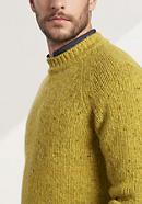 Herren Pullover aus reiner Merinowolle