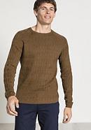 Herren Raglan-Pullover aus Bio-Baumwolle mit Yak