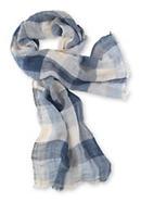 Herren Schal aus reinem Leinen